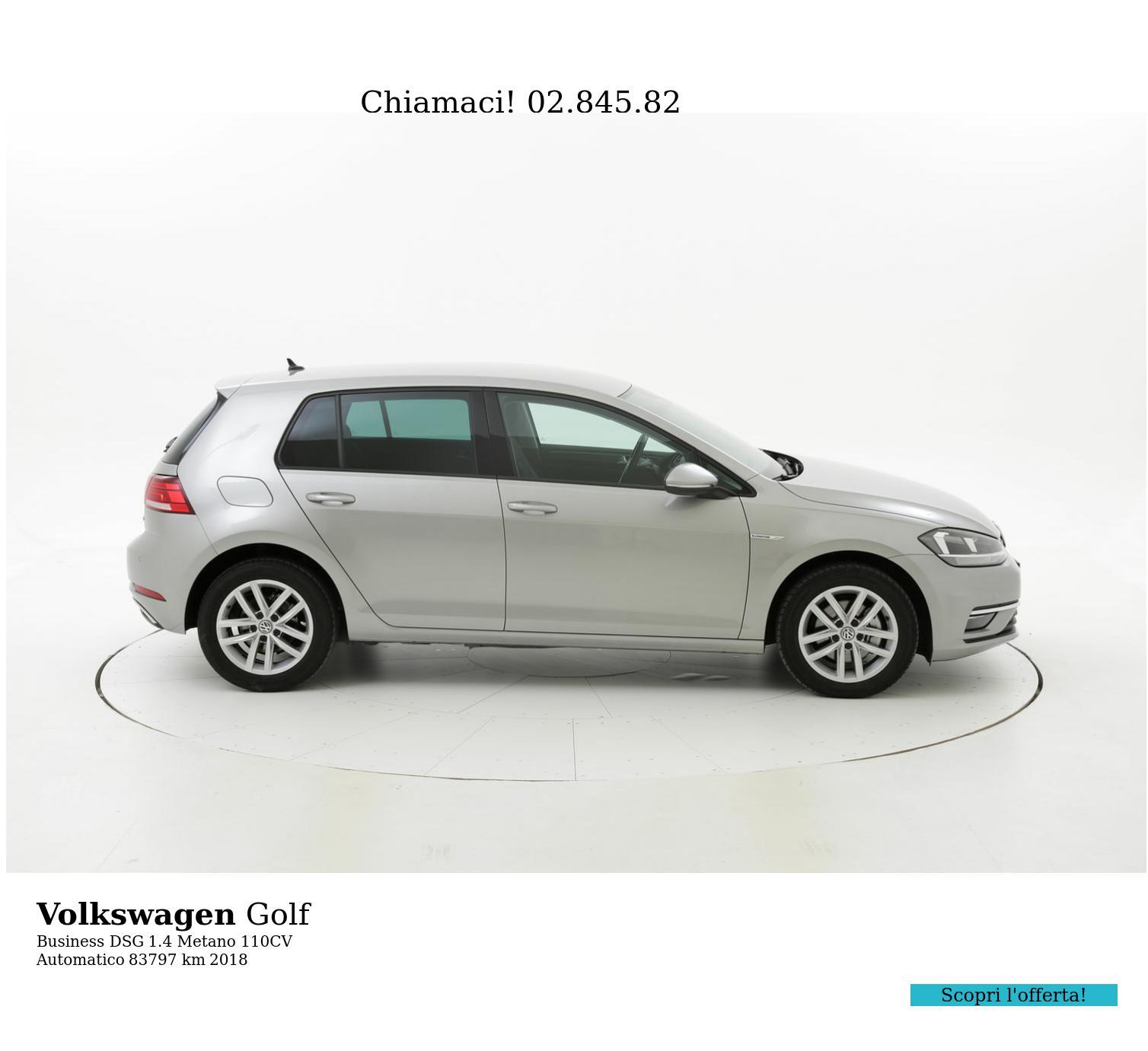 Volkswagen Golf usata del 2018 con 84.256 km | brumbrum