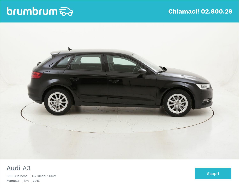 Audi A3 SPB Business usata del 2015 con 87.546 km   brumbrum