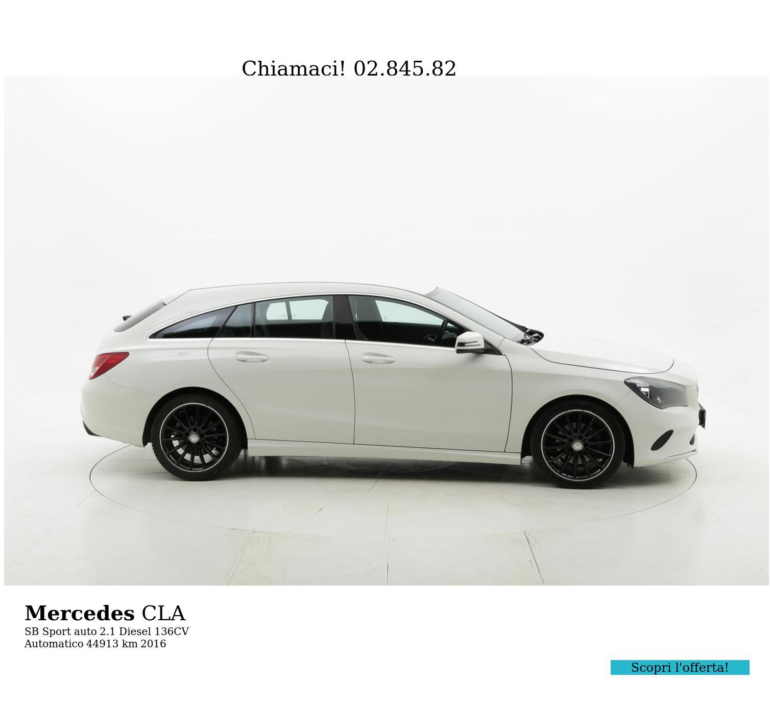 Mercedes CLA usata del 2016 con 45.355 km | brumbrum