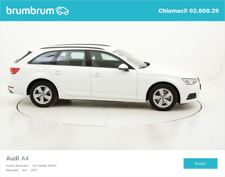 Audi A4 Avant Business usata del 2017 con 62.279 km | brumbrum