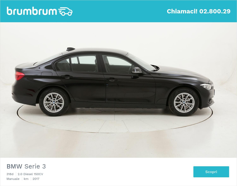BMW Serie 3 318d usata del 2017 con 43.126 km | brumbrum