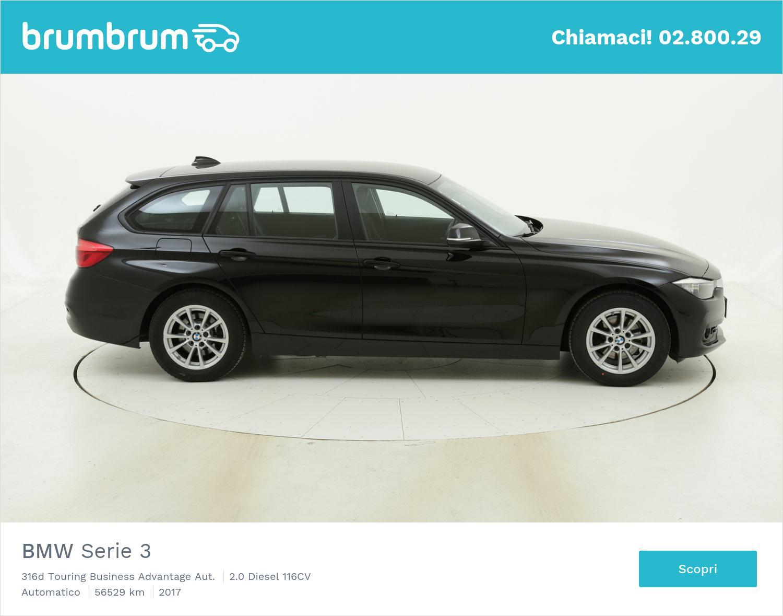 BMW Serie 3 316d Touring Business Advantage Aut. usata del 2017 con 57.110 km | brumbrum