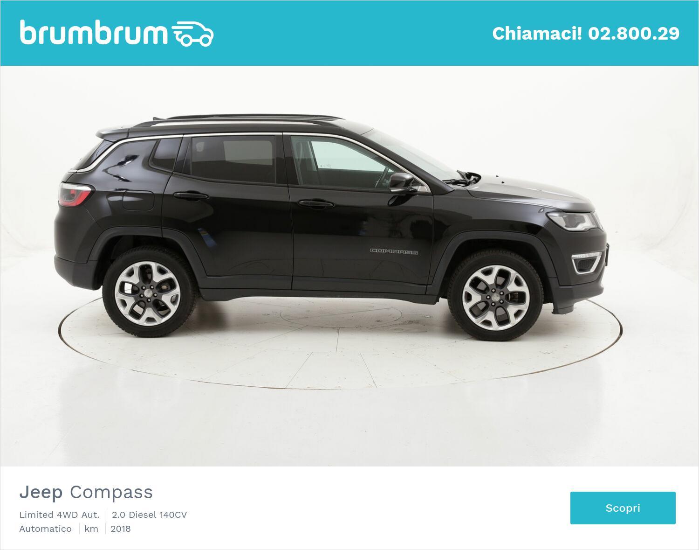 Jeep Compass Limited 4WD Aut. usata del 2018 con 49.807 km | brumbrum