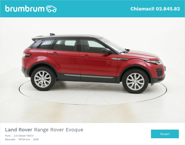 Land Rover Range Rover Evoque usata del 2018 con 18.738 km | brumbrum