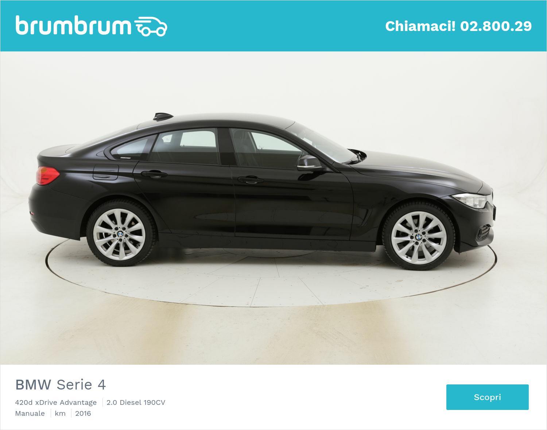 BMW Serie 4 420d xDrive Advantage usata del 2016 con 98.100 km | brumbrum