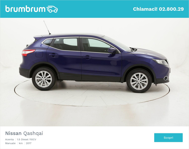 Nissan Qashqai Acenta usata del 2017 con 126.087 km | brumbrum
