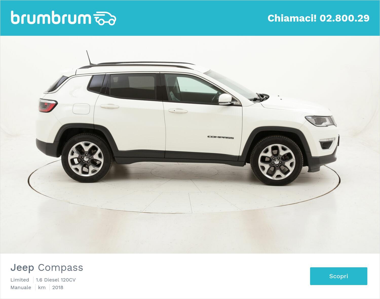 Jeep Compass Limited usata del 2018 con 57.495 km   brumbrum