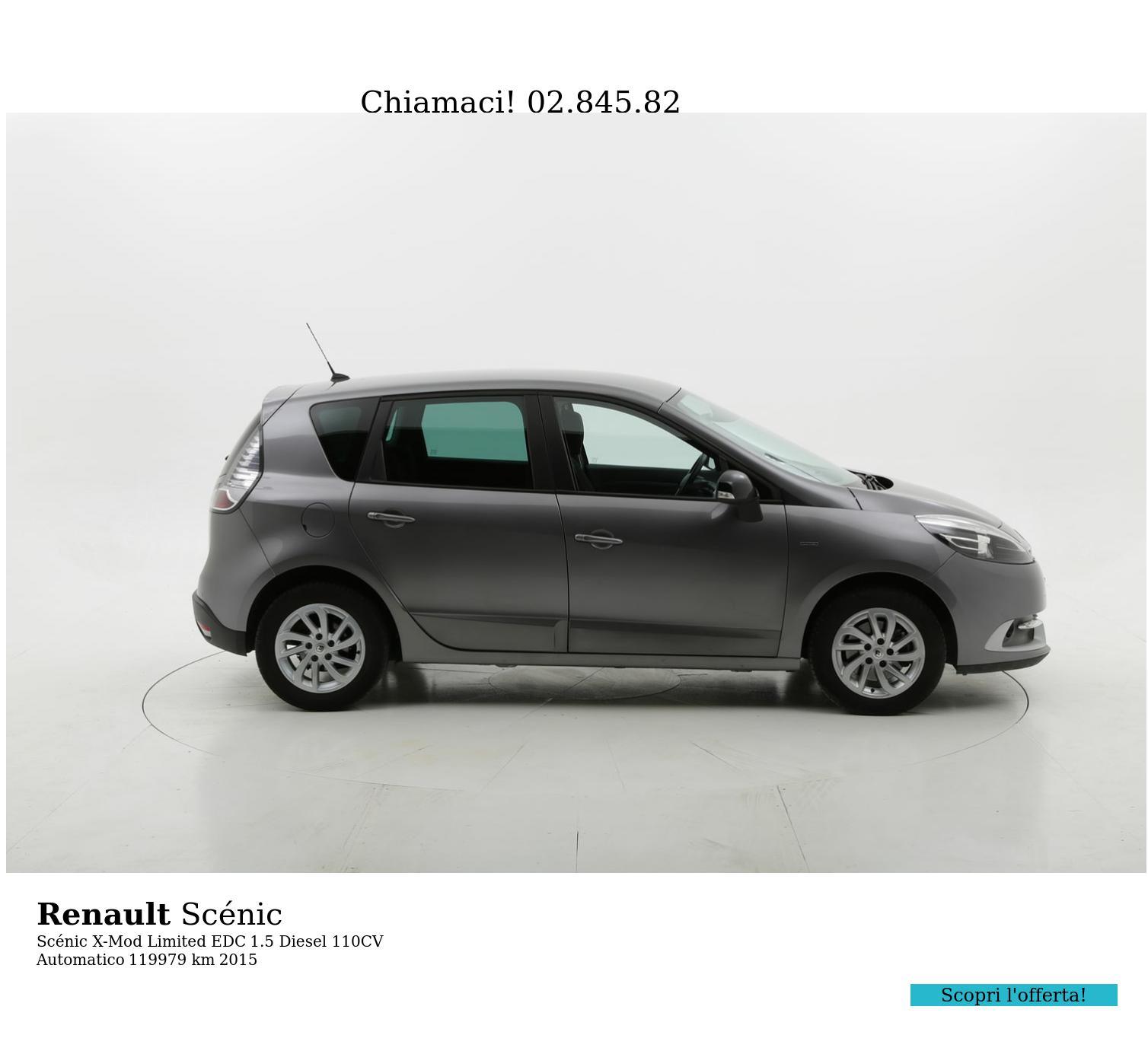 Renault Scénic usata del 2015 con 120.031 km | brumbrum