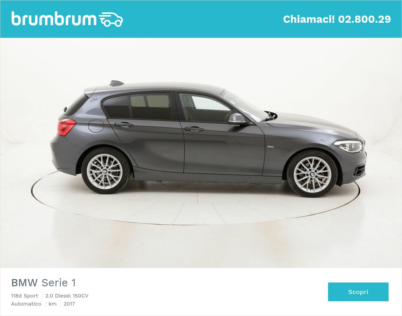 BMW Serie 1 118d Sport usata del 2017 con 108.988 km | brumbrum