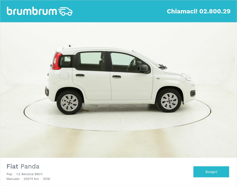 Fiat Panda Pop usata del 2016 con 23.339 km | brumbrum