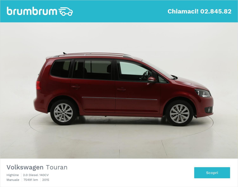 Volkswagen Touran usata del 2015 con 75.622 km | brumbrum