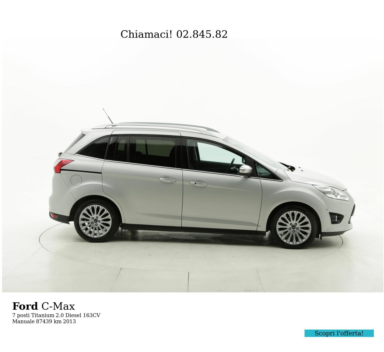 Ford C-Max usata del 2013 con 87.589 km | brumbrum