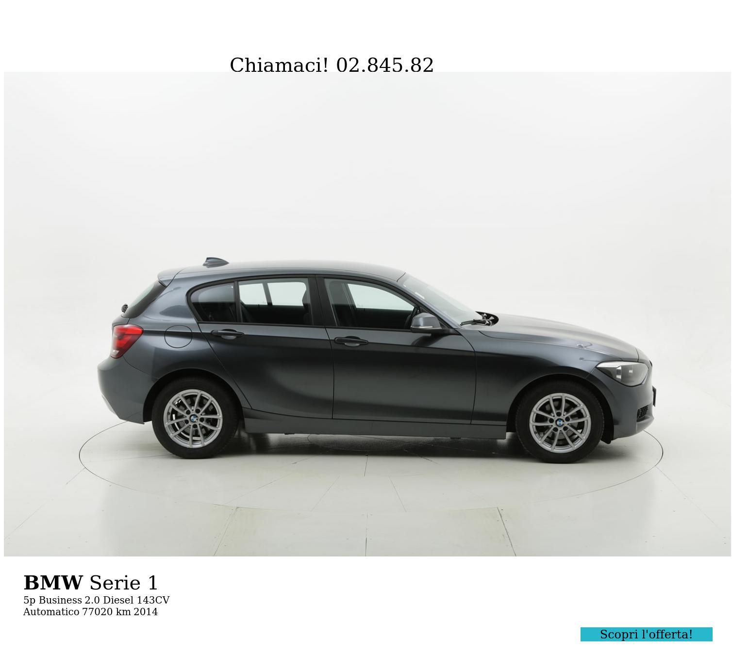 BMW Serie 1 usata del 2014 con 77.673 km   brumbrum