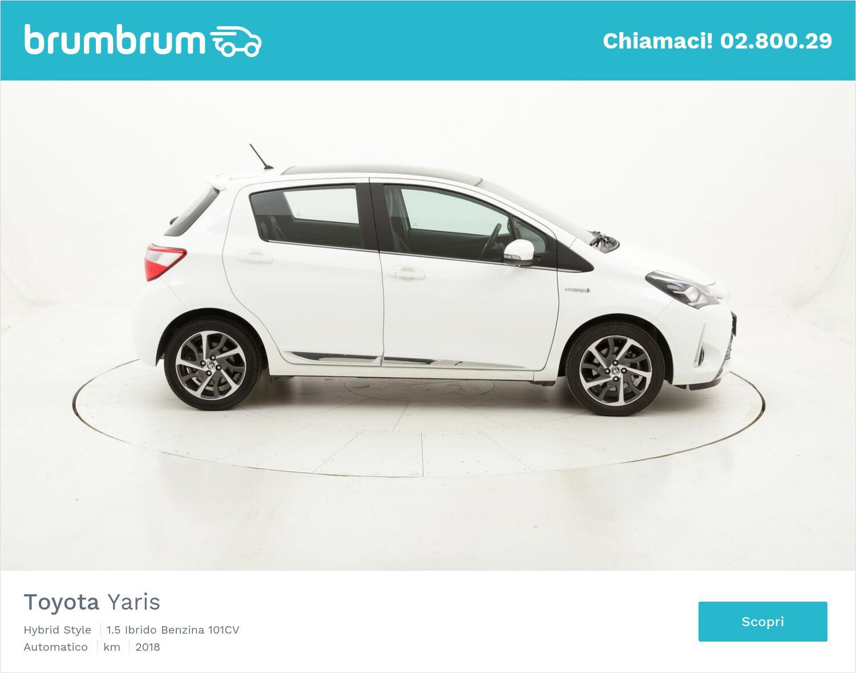 Toyota Yaris Hybrid Style usata del 2018 con 39.145 km | brumbrum