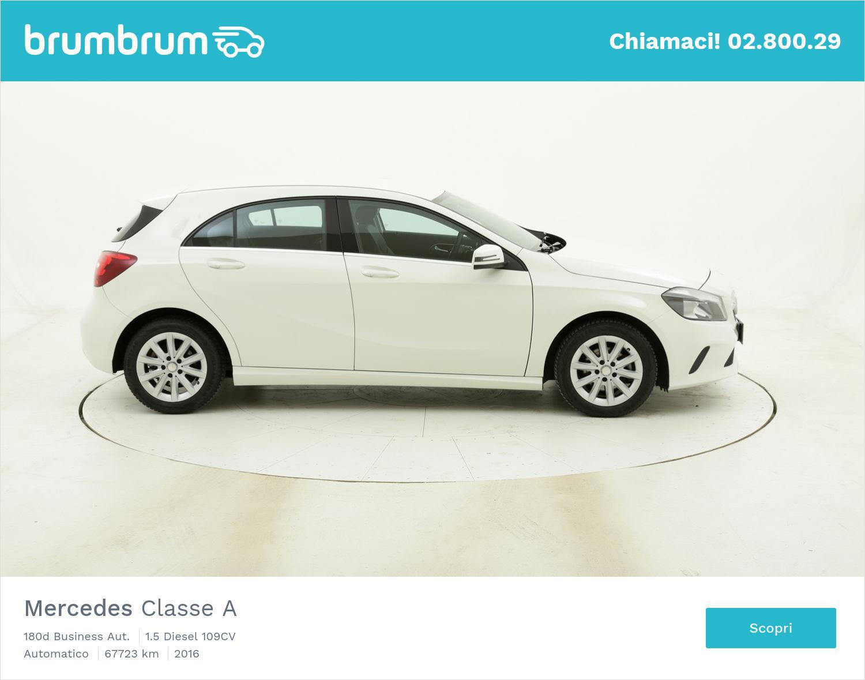 Mercedes Classe A 180d Business Aut. usata del 2016 con 67.932 km | brumbrum