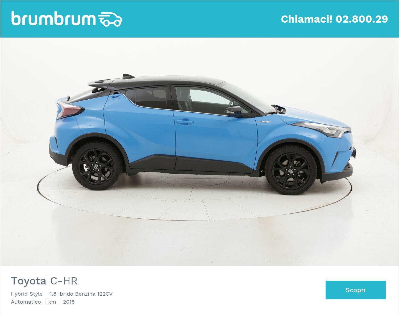 Toyota C-HR Hybrid Style usata del 2018 con 70.101 km   brumbrum