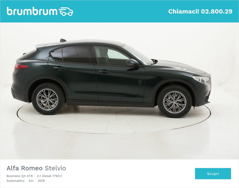 Alfa Romeo Stelvio Business Q4 AT8 usata del 2018 con 39.112 km | brumbrum