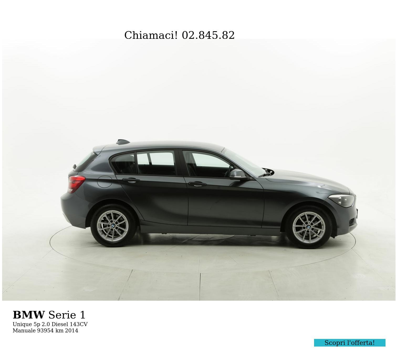 BMW Serie 1 usata del 2014 con 94.010 km | brumbrum