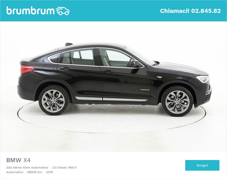 BMW X4 usata del 2016 con 68.629 km | brumbrum