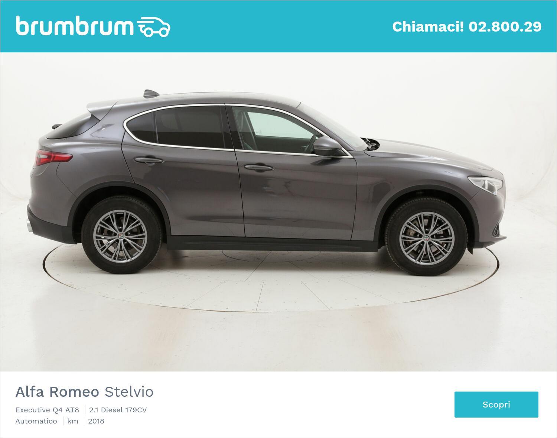 Alfa Romeo Stelvio Executive Q4 AT8 usata del 2018 con 110.742 km | brumbrum