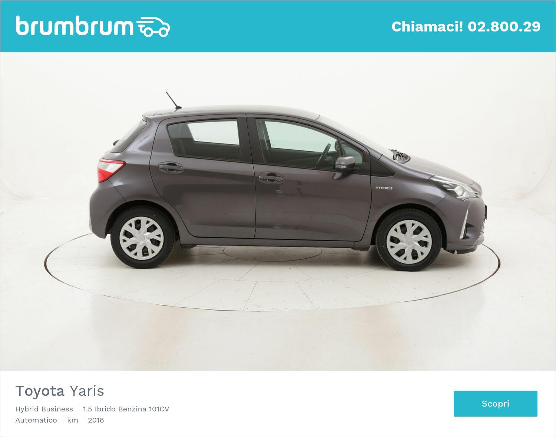 Toyota Yaris Hybrid Business usata del 2018 con 38.189 km   brumbrum