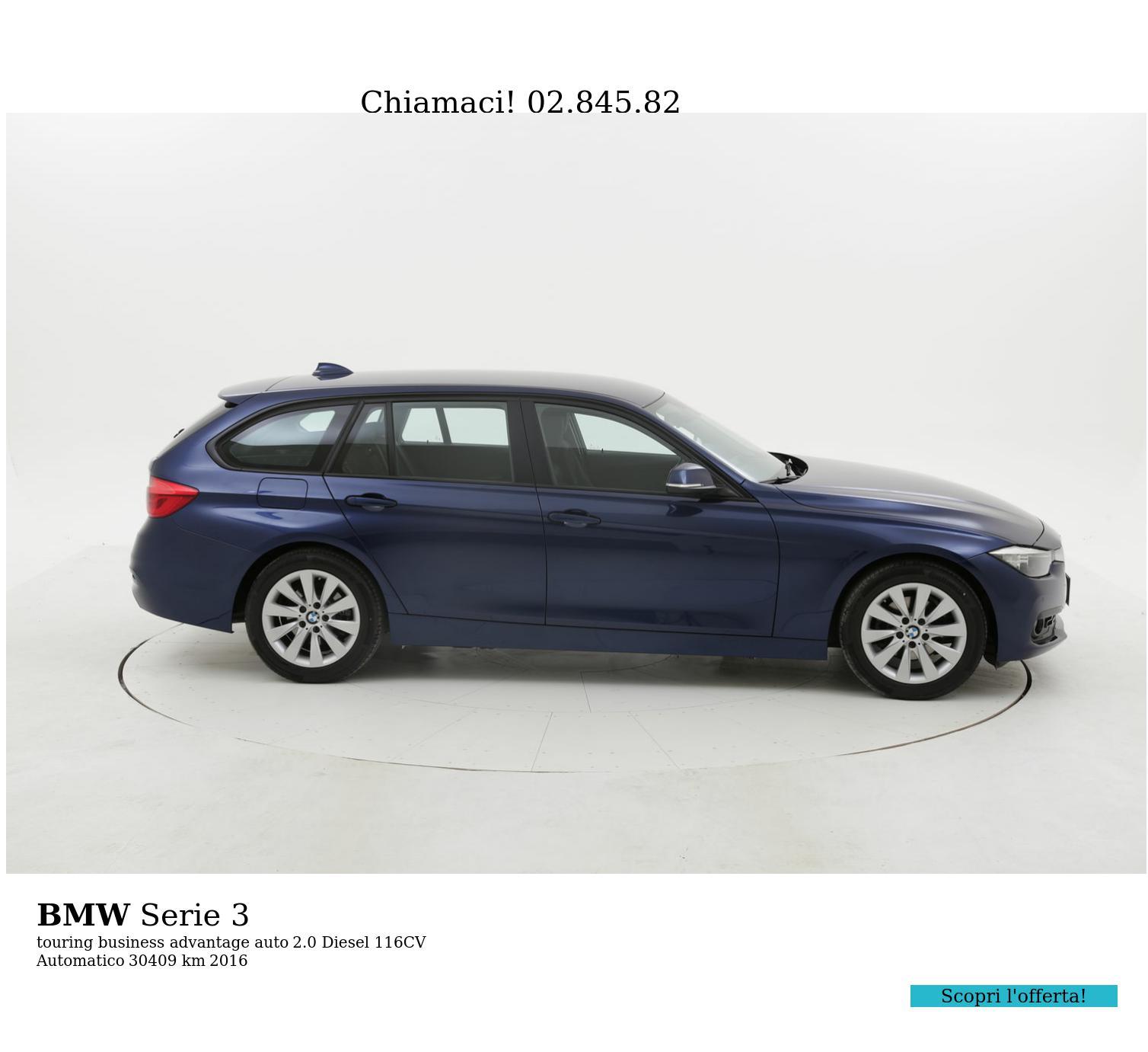 BMW Serie 3 usata del 2016 con 30.658 km | brumbrum