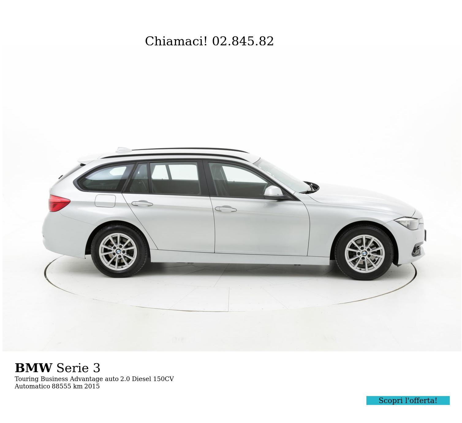 BMW Serie 3 usata del 2015 con 88.877 km | brumbrum