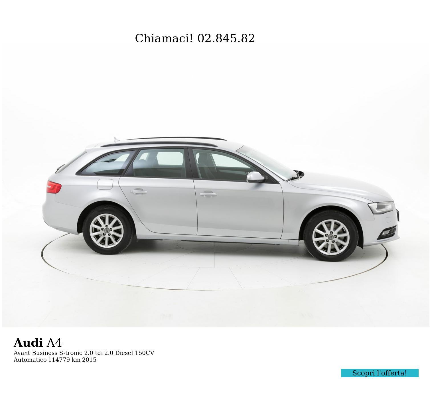 Audi A4 usata del 2015 con 114.878 km | brumbrum