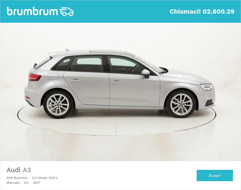 Audi A3 SPB Business usata del 2017 con 66.609 km | brumbrum