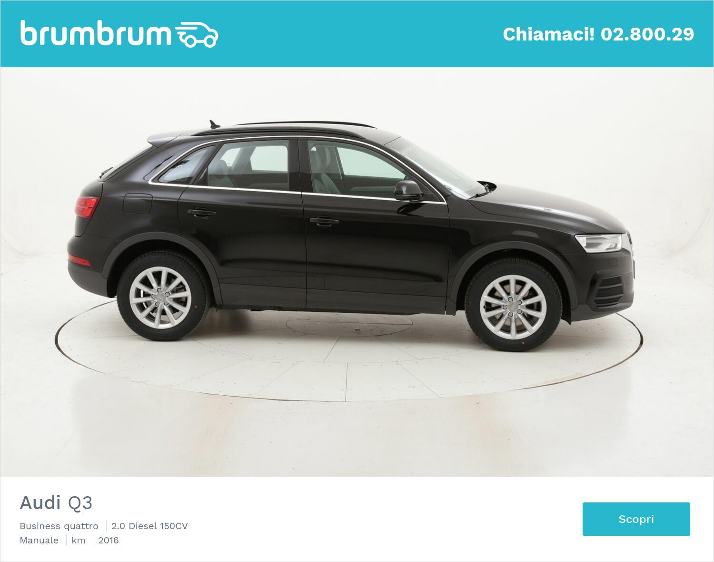 Audi Q3 Business quattro usata del 2016 con 130.918 km   brumbrum