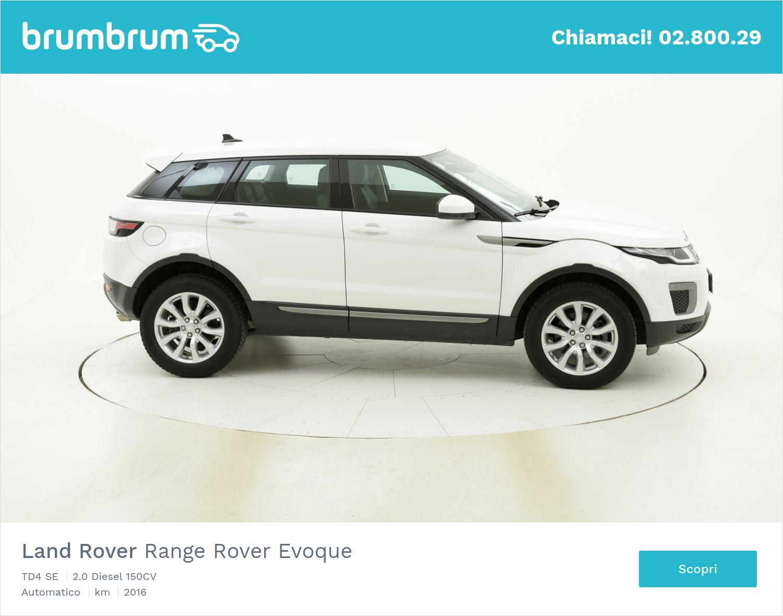 Land Rover Range Rover Evoque usata del 2016 con 72.782 km | brumbrum