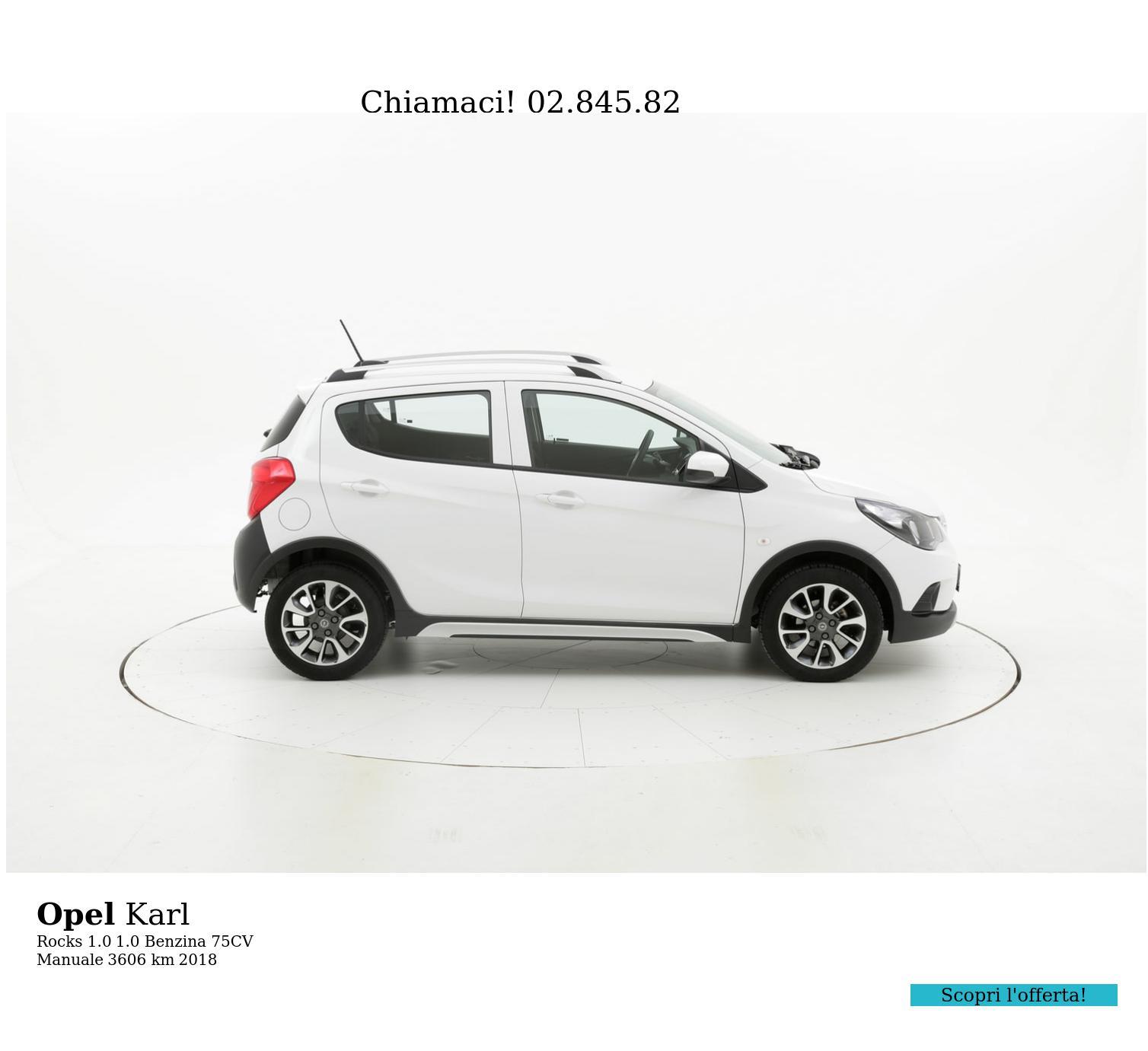 Opel Karl usata del 2018 con 3.655 km | brumbrum