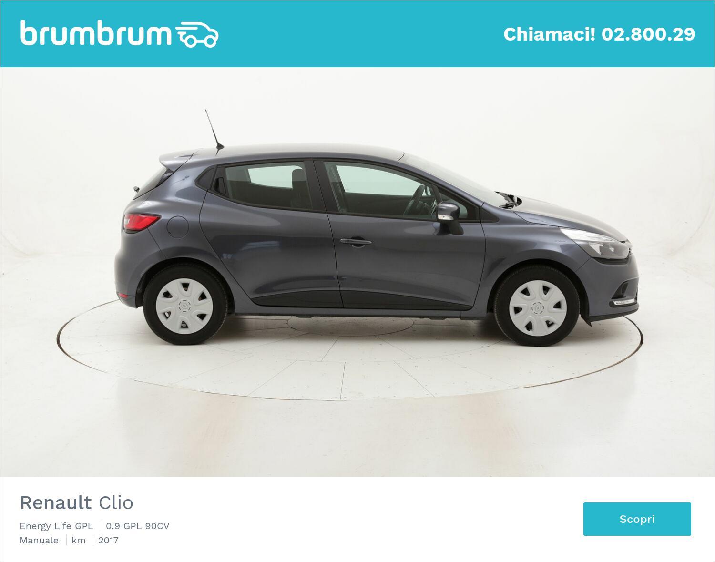 Renault Clio Energy Life GPL usata del 2017 con 83.098 km | brumbrum
