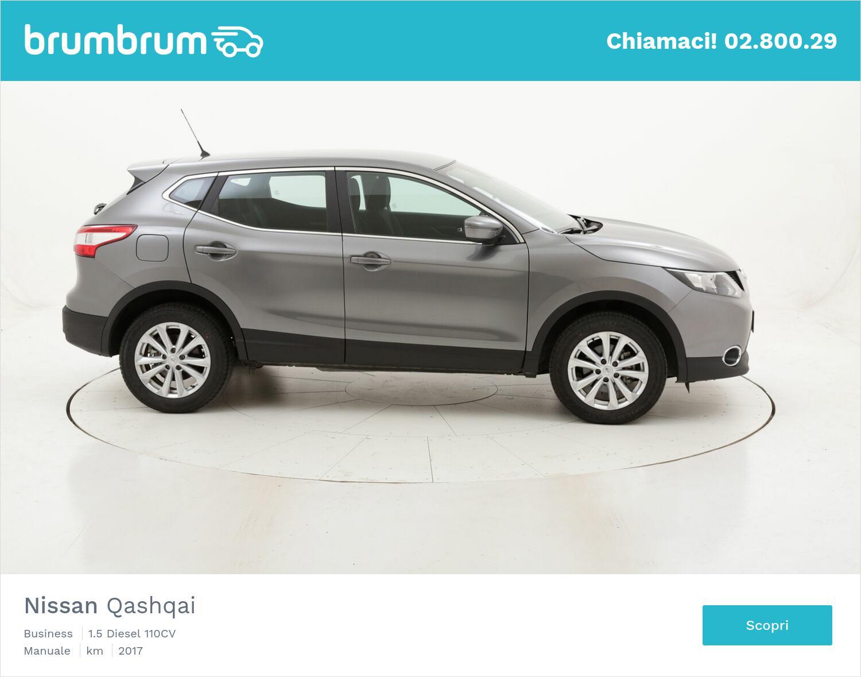 Nissan Qashqai Business usata del 2017 con 21.405 km   brumbrum