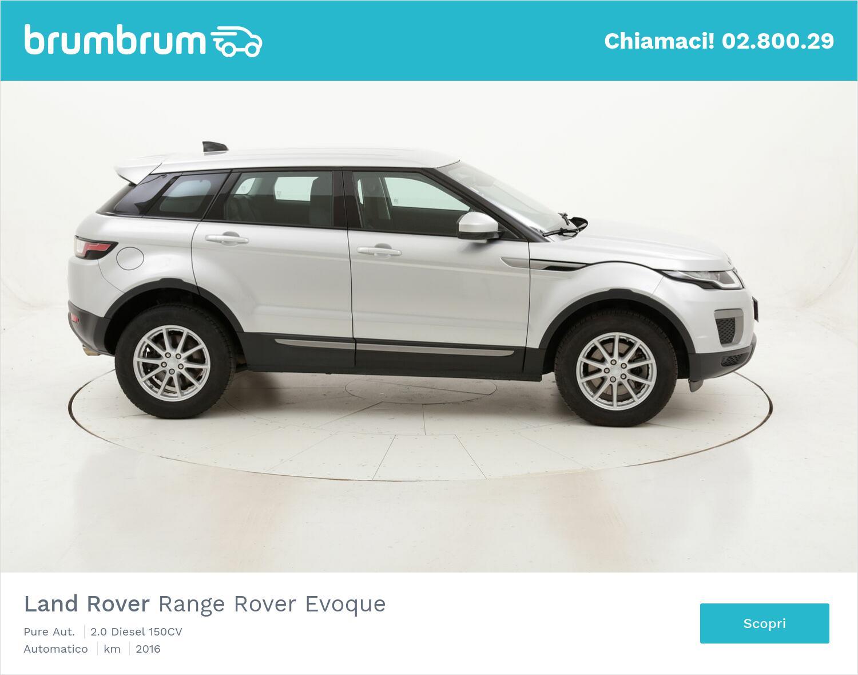 Land Rover Range Rover Evoque Pure Aut. usata del 2016 con 106.335 km   brumbrum