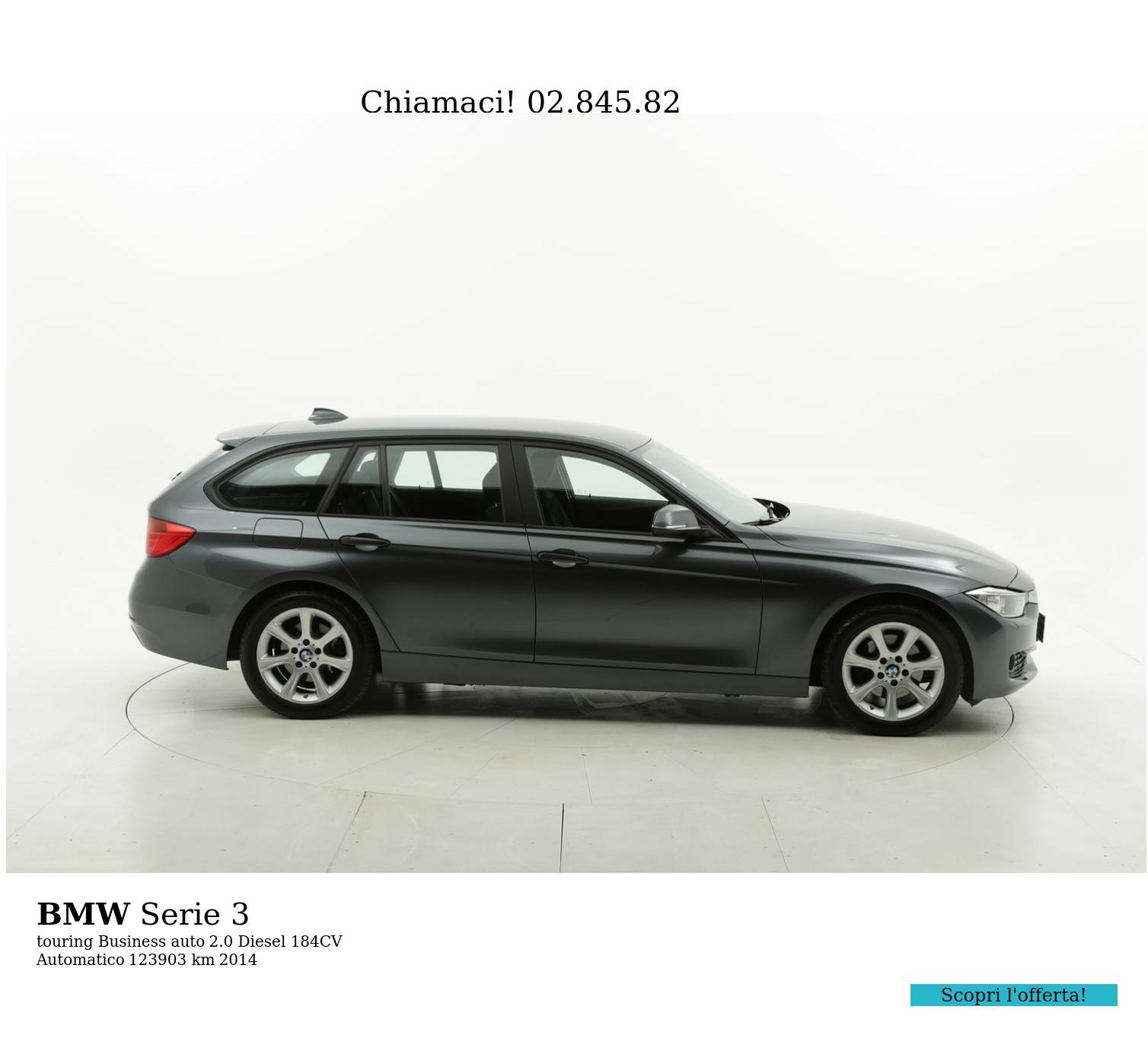BMW Serie 3 usata del 2014 con 123.994 km | brumbrum
