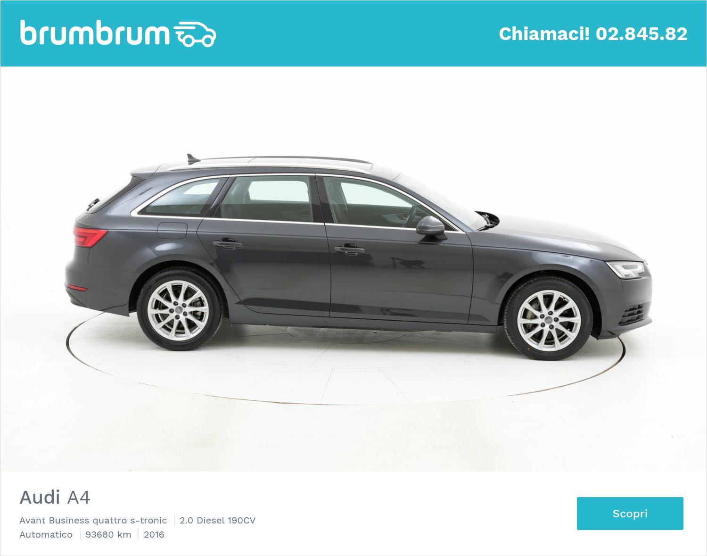 Audi A4 usata del 2016 con 93.736 km | brumbrum