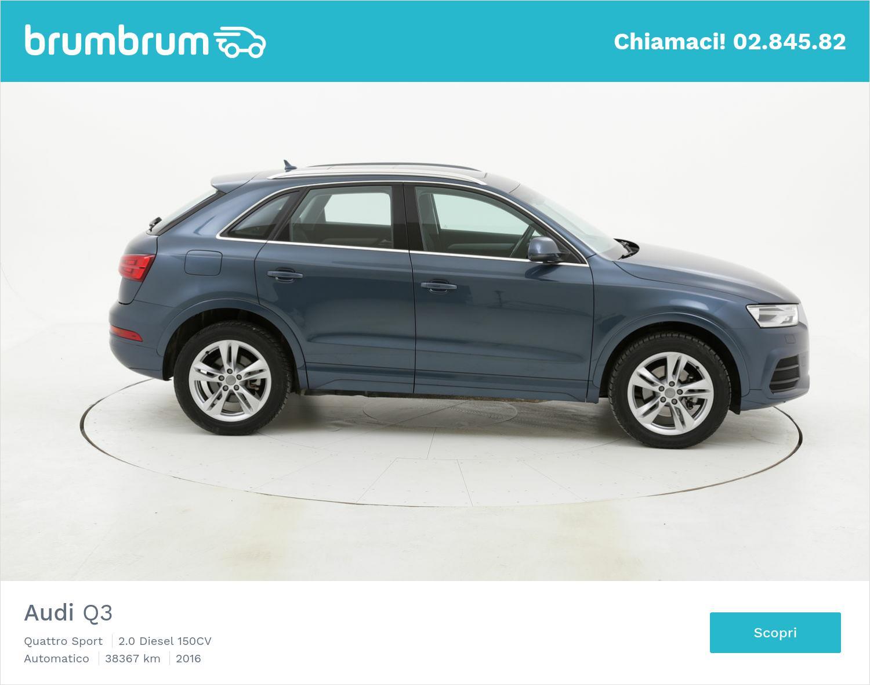 Audi Q3 usata del 2016 con 38.412 km | brumbrum
