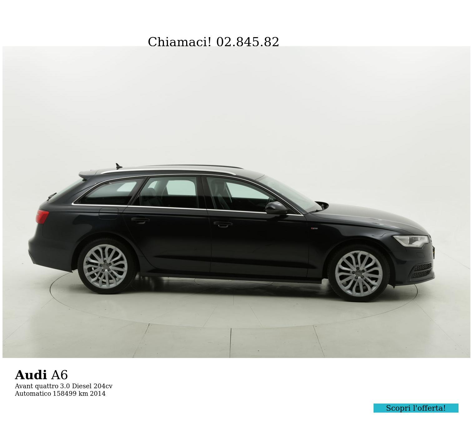 Audi A6 usata del 2014 con 158.580 km | brumbrum