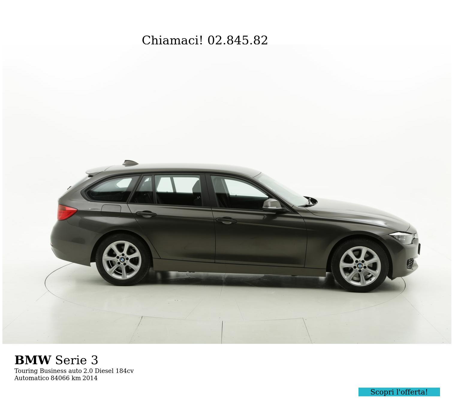BMW Serie 3 usata del 2014 con 84.148 km | brumbrum