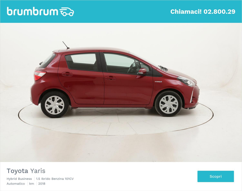 Toyota Yaris Hybrid Business usata del 2018 con 39.036 km | brumbrum