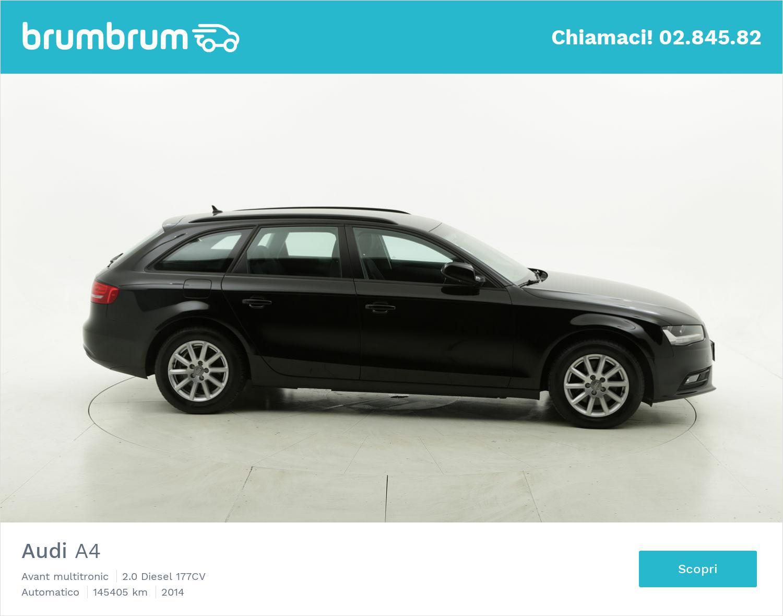 Audi A4 usata del 2014 con 145.956 km   brumbrum