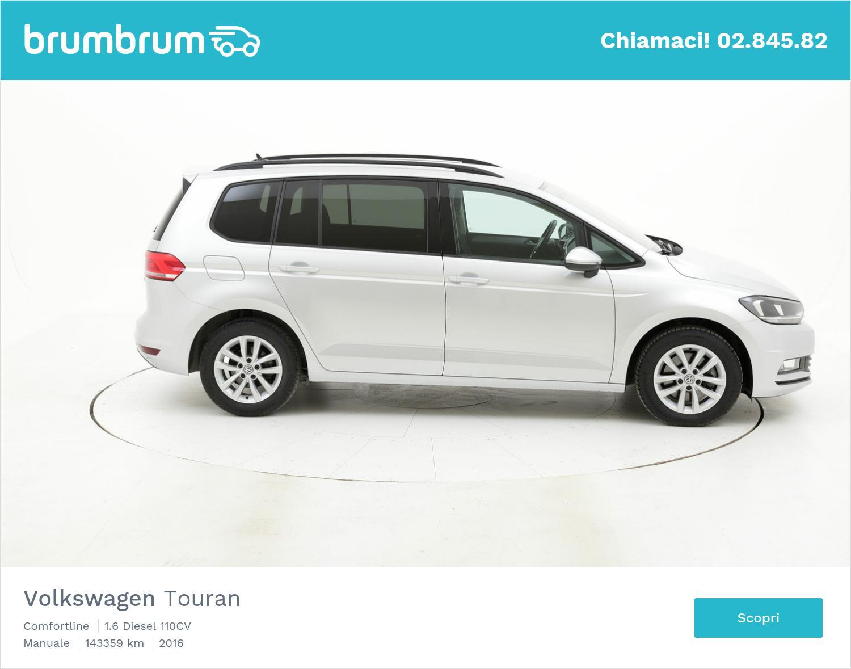 Volkswagen Touran usata del 2016 con 143.588 km   brumbrum