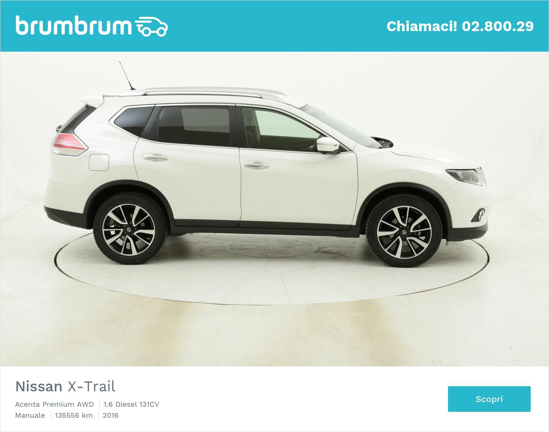 Nissan X-Trail Acenta Premium AWD usata del 2016 con 136.065 km | brumbrum