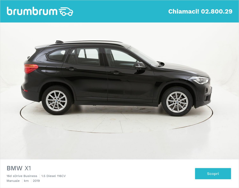 BMW X1 16d sDrive Business usata del 2019 con 52.411 km   brumbrum