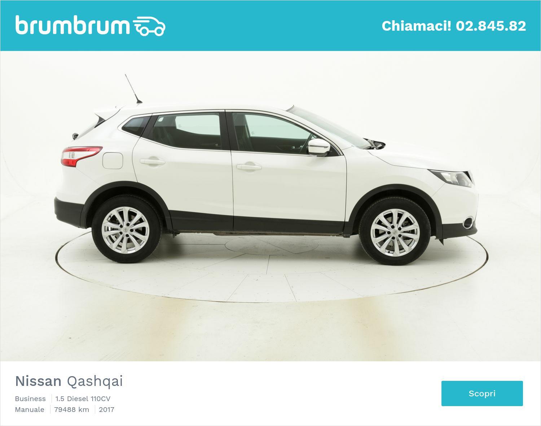 Nissan Qashqai usata del 2017 con 79.501 km | brumbrum