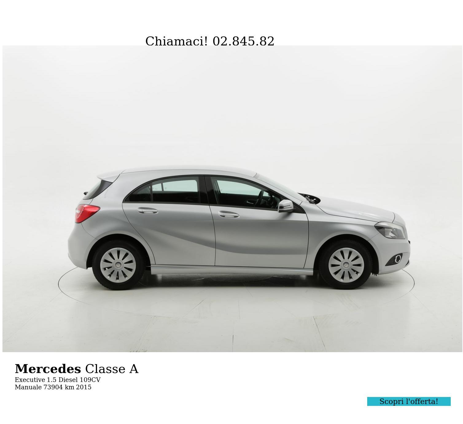 Mercedes Classe A usata del 2015 con 74.022 km | brumbrum