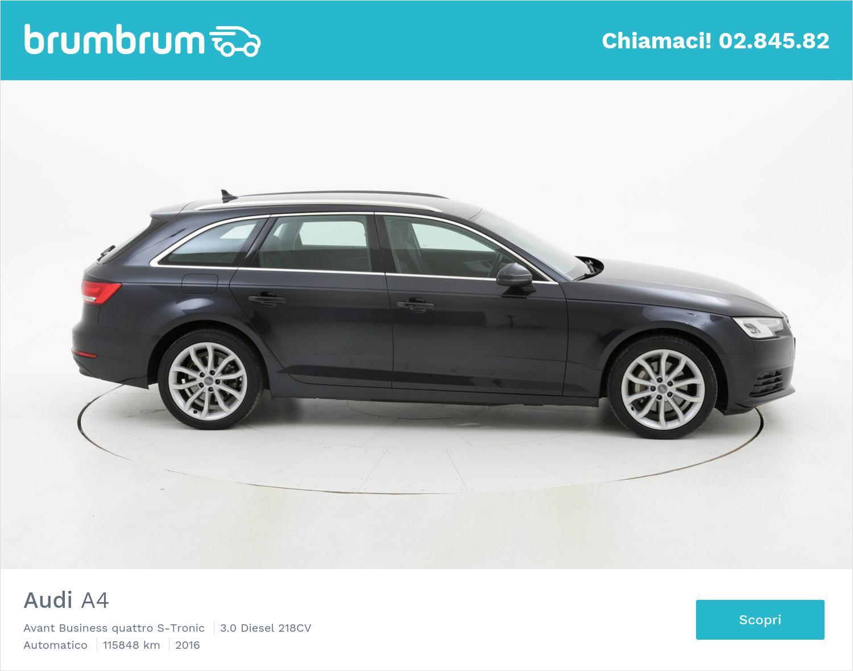 Audi A4 usata del 2016 con 116.403 km   brumbrum