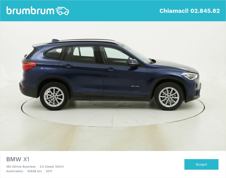 BMW X1 usata del 2017 con 43.913 km   brumbrum