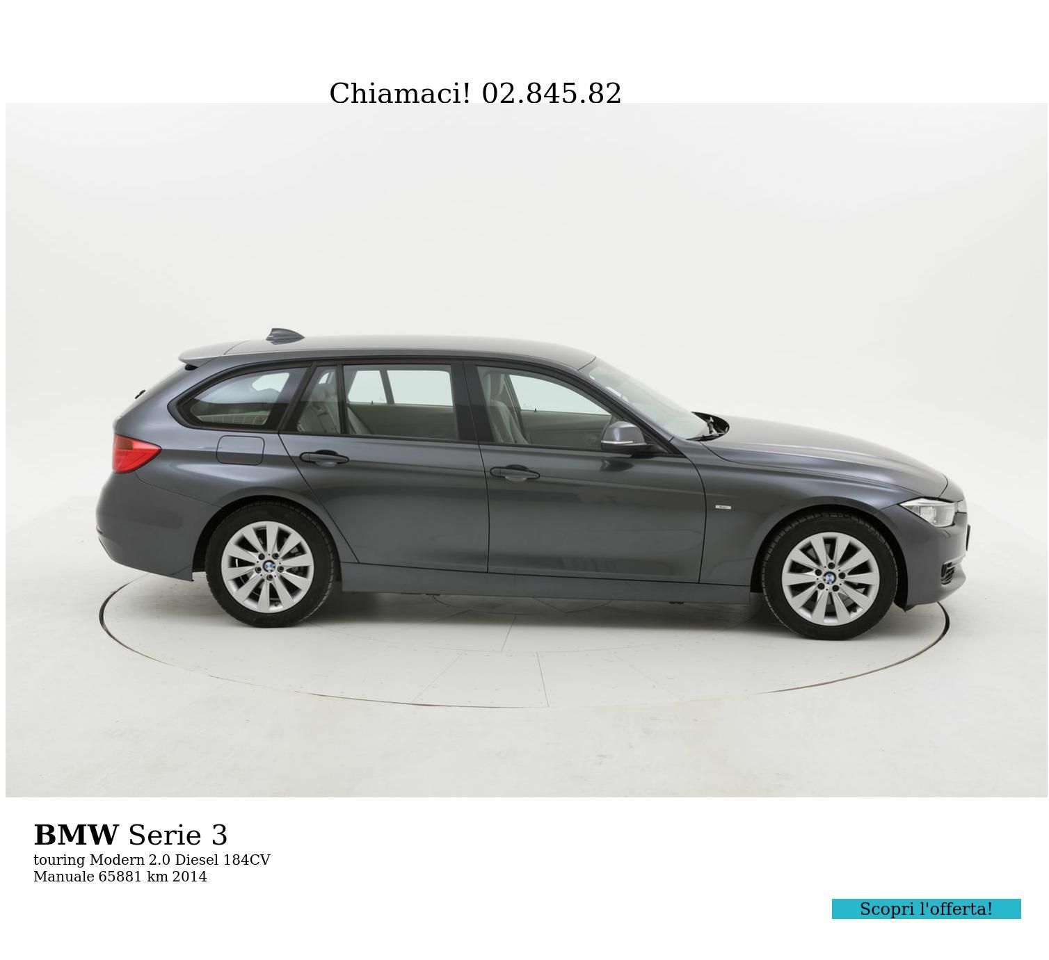 BMW Serie 3 usata del 2014 con 66.476 km | brumbrum